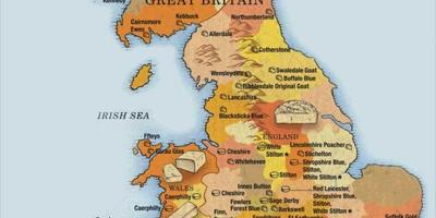 Show me a map of Britain